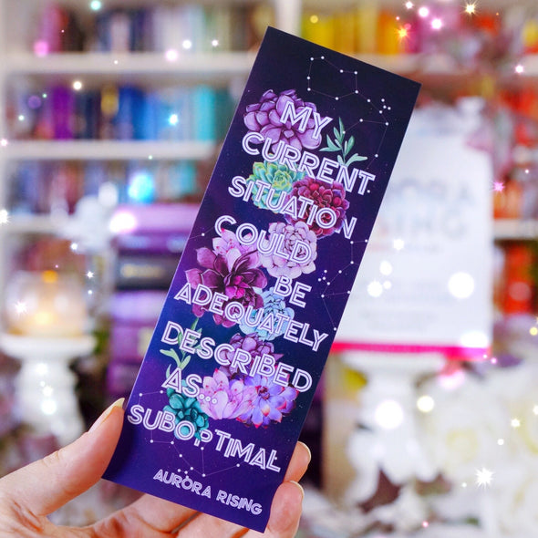 Aurora Rising inspired bookmark