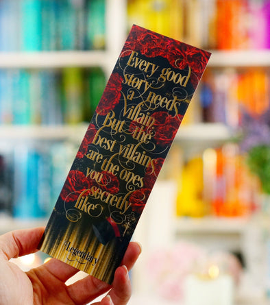 "Legendary ""Villain"" bookmark"