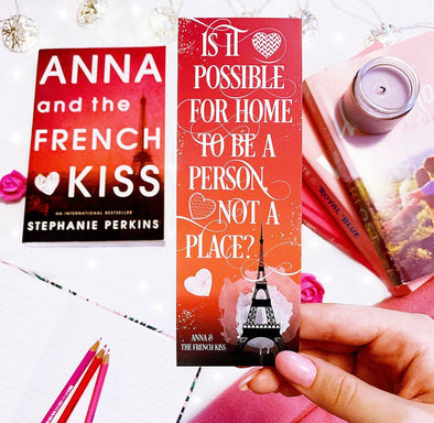 "Anna & the French Kiss ""Home"" bookmark"