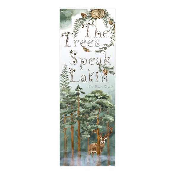 "The Raven Cycle ""Trees"" bookmark"