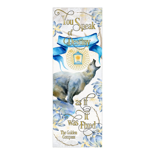 "The Golden Compass ""Destiny"" bookmark"
