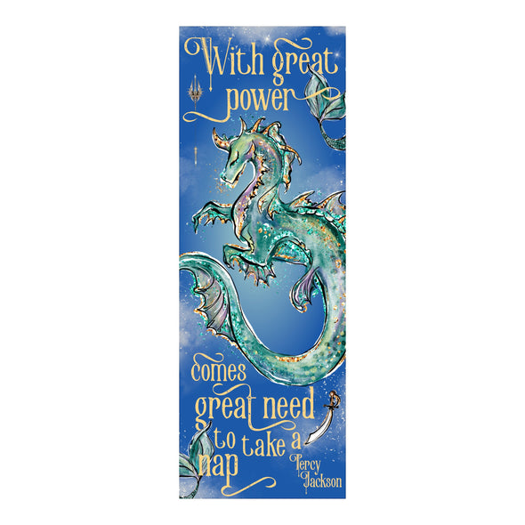 "Percy Jackson ""Great power"" bookmark"