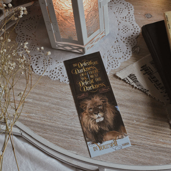 "Narnia ""Darkness"" bookmark"