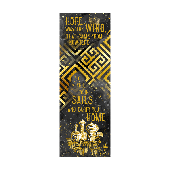 "King of Scars ""Hope"" bookmark"