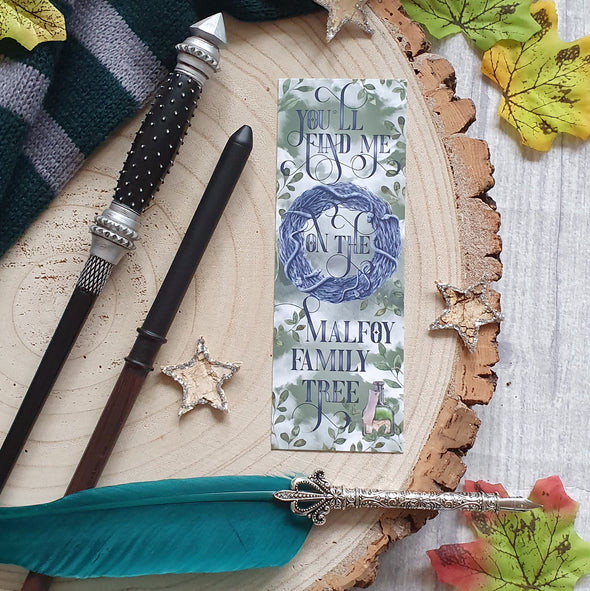 Malfoy Family Tree bookmark
