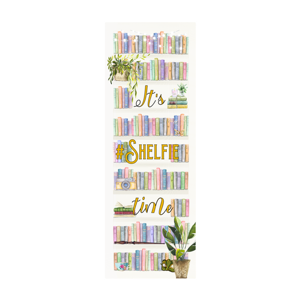 It's Shelfie Time bookmark