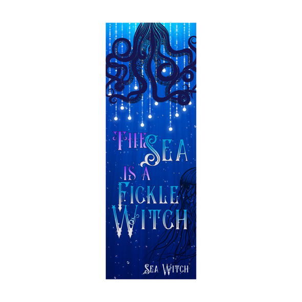 "Sea Witch ""Fickle"" bookmark"
