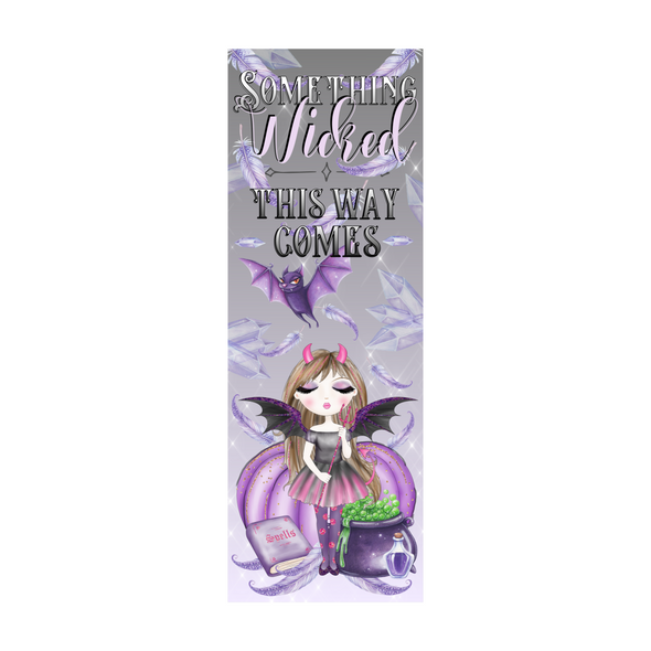 Something Wicked bookmark