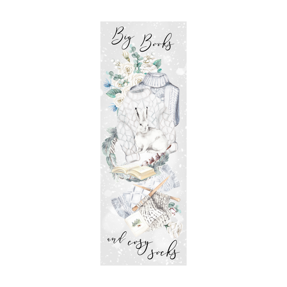 Winter Vibes bookmark