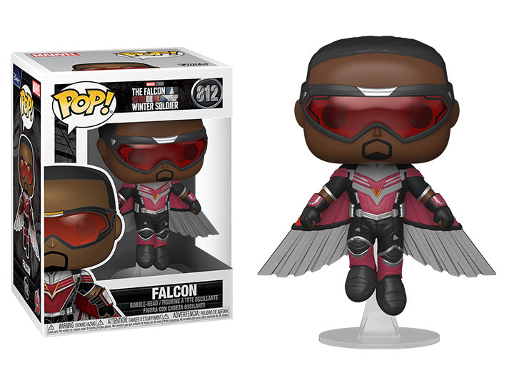 PRE VENTA Funko Pop! Marvel: The Falcon and the Winter Soldier - Falcon (Volando)