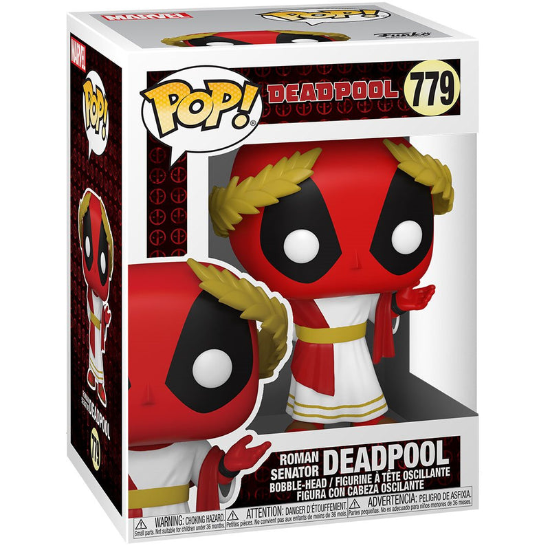 PRE VENTA Funko Deadpool 30th Anniversary Roman Senator Deadpool Pop!