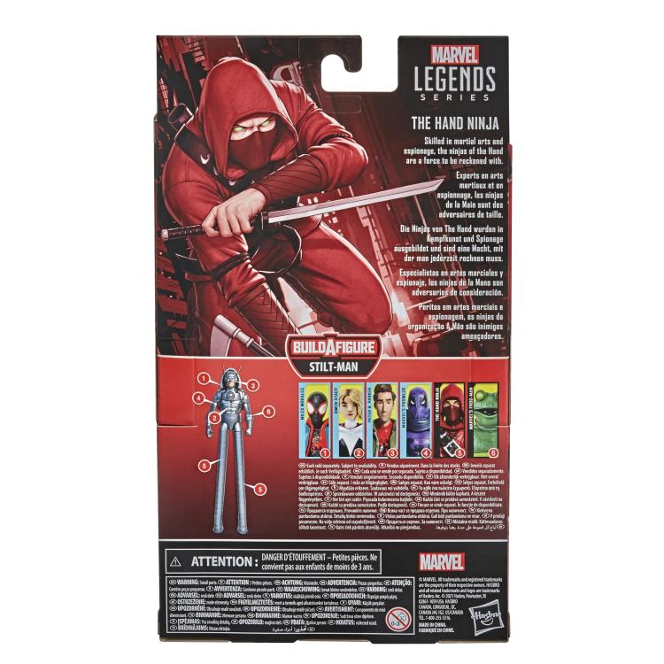 PRE VENTA Marvel Legends : Into the Spider-Verse Marvel´s The Hand Ninja