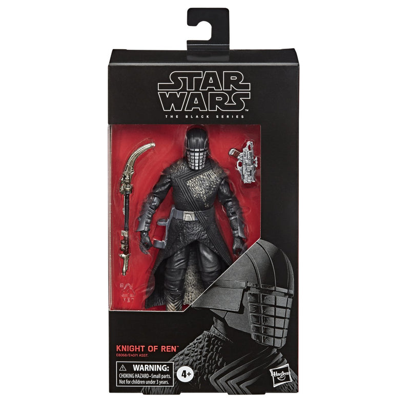 Star Wars Episodio IX: The Rise of Skywalker Caballero de Ren The Black Series Figura de accion