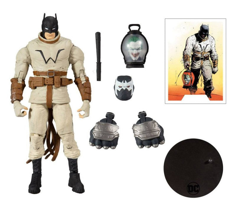 Pre-Venta: Last Knight on Earth DC Multiverse Batman (Collect to Build: Bane)