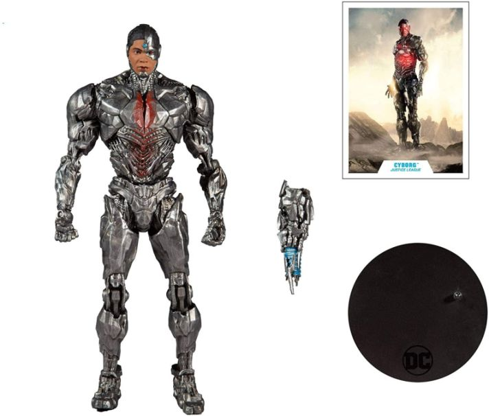 Pre venta - McFarlane Toys DC Justice League Movie Cyborg 7″ Figuras de acción