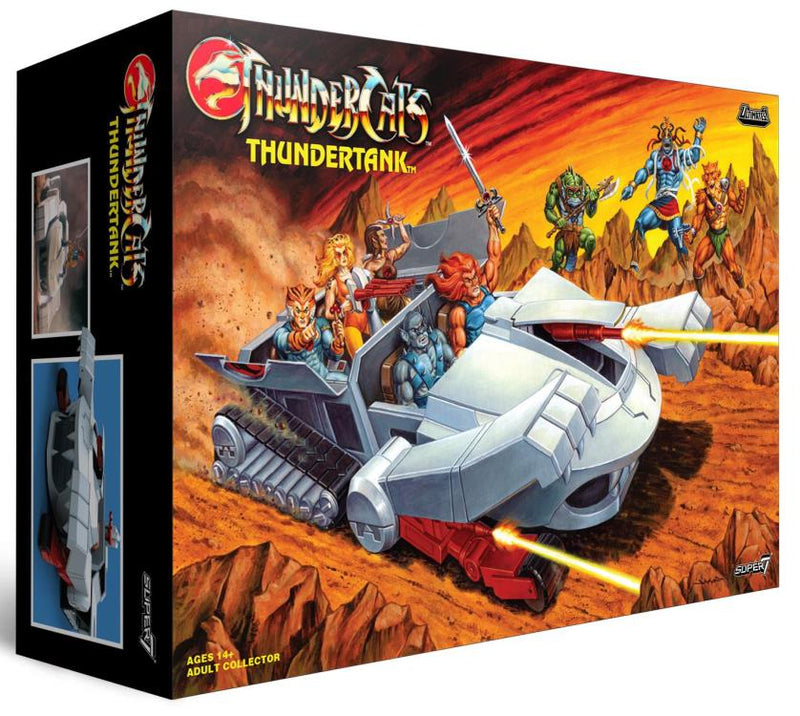 Pre venta - ThunderCats Ultimates Thundertank
