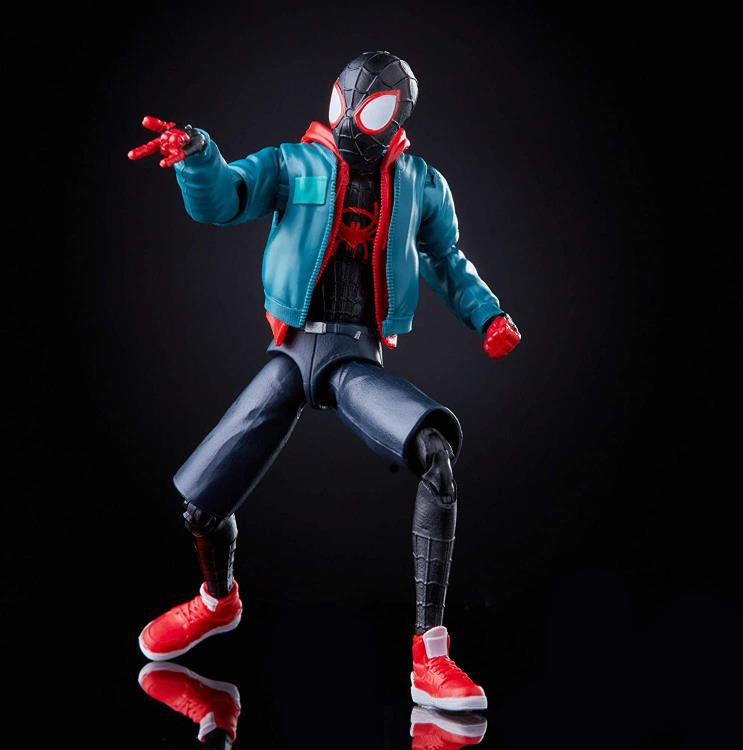 PRE VENTA: Spider-Man: Into the Spider-Verse Marvel Legends Wave 1 Set de 6 Figures (Stilt-Man BAF)