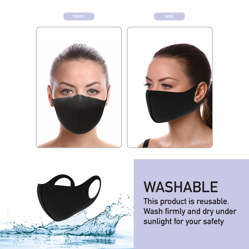 REUSABLE & WASHABLE PROTECTIVE FILTRATION CLOTH MASK