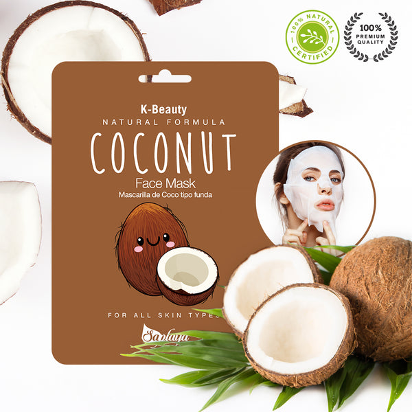 Natural Formula Coconut Mask Sheet