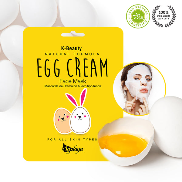Natural Formula Egg Cream Mask Sheet