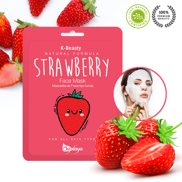 Natural Formula Strawberry Mask Sheet