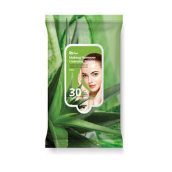 Aloe Makeup Remover Cleansing Tissues (30 Sheets)