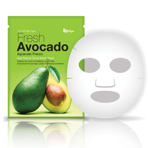 Fresh Avocado Facial Mask Sheet