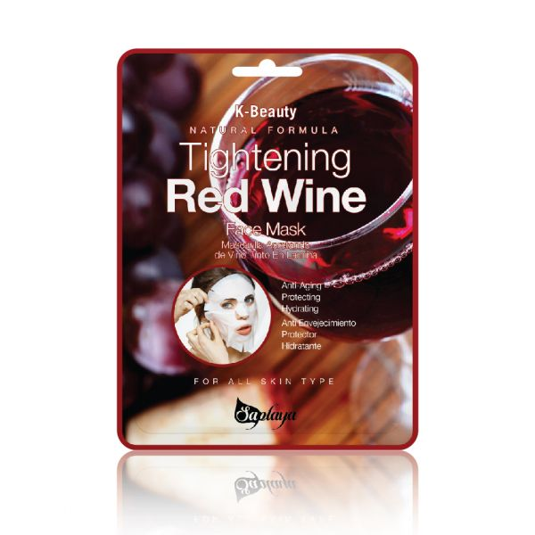 Tightening Red Wine Daily Mask Sheet