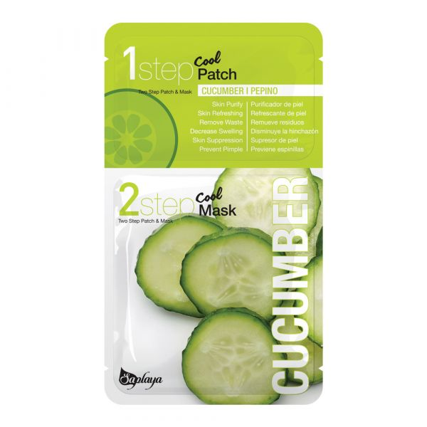 Two Step Cucumber Patch and Mask