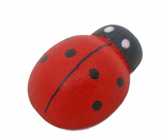 SALE 50 Wooden Ladybugs - Large - Perfect for Scrapbooking and Crafts - Z055
