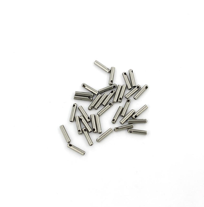 Stainless Steel Cord Ends - 7mm x 1.5mm - 50 Pieces - FD391