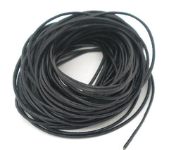 BULK Black Leather Cord 32.8Ft - 1.5mm - Z006