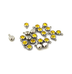 5 November Birthstone Stainless Steel Charms - DBD620