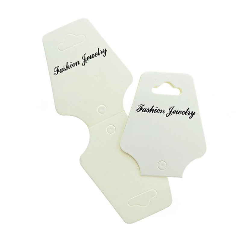 50 Fold Over Necklace Display Cards - TL047