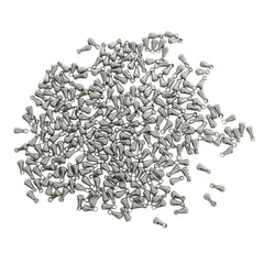Stainless Steel Chain Drops - 6mm x 3mm - 25 Pieces - FD181
