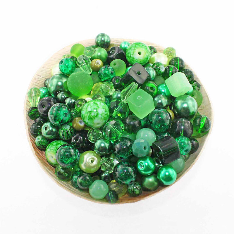 Glass Bead Mix 6mm To 12mm