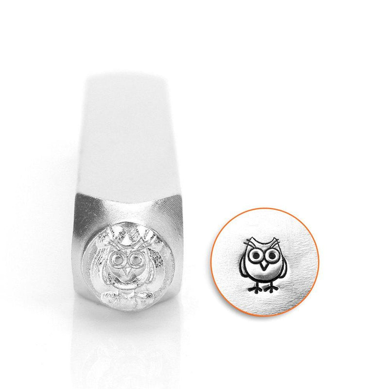 Owl Metal Stamp ImpressArt Steel Stamping Tool for Hand Stamping Jewelry and Leather - AA032