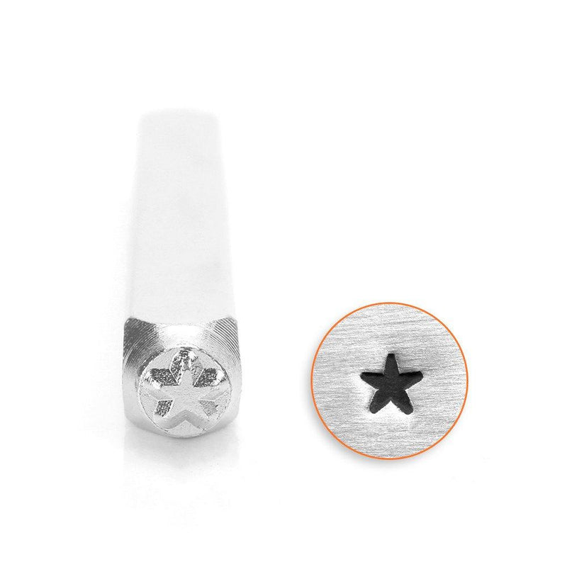 Star Metal Stamp ImpressArt Steel Stamping Tool for Hand Stamping Jewelry and Leather - AA026