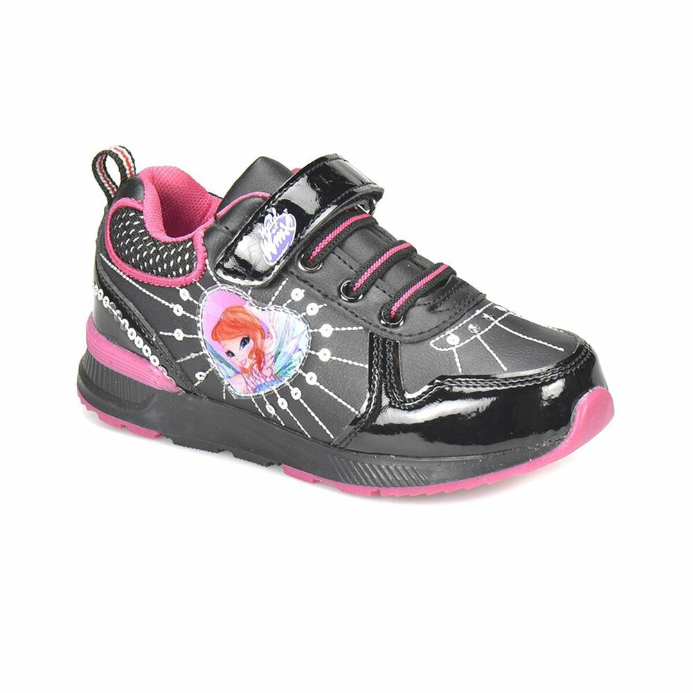 Girl's Black Sport Shoes