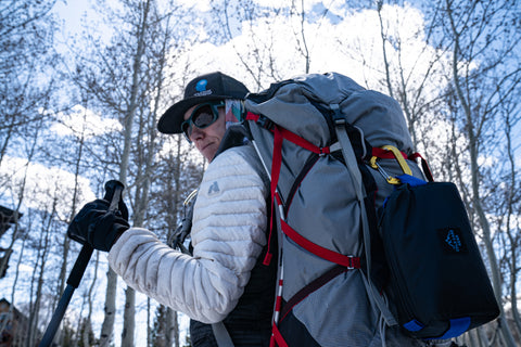 Pack sun protection! Even in winter, a hat, sunglasses, and sunscreen are recommended. This is a staple outdoor essential that must be in your kit.