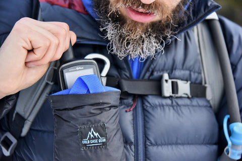 Our West Slope Case will extend the battery life of your handheld gps device. Use a gps as one of your outdoor essentials.