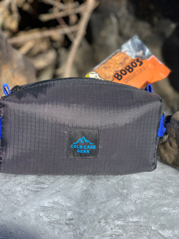 Pack calorie dense foods on any hike. Pack more than you need. This is absolutely an outdoor essential. Our North Ridge Pouch will stop food from freezing or keep food cold.