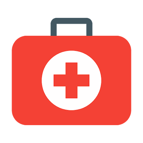 First aid is an absolute outdoor essential. Always leave a first aid kit in your backpack and replace any items you use.
