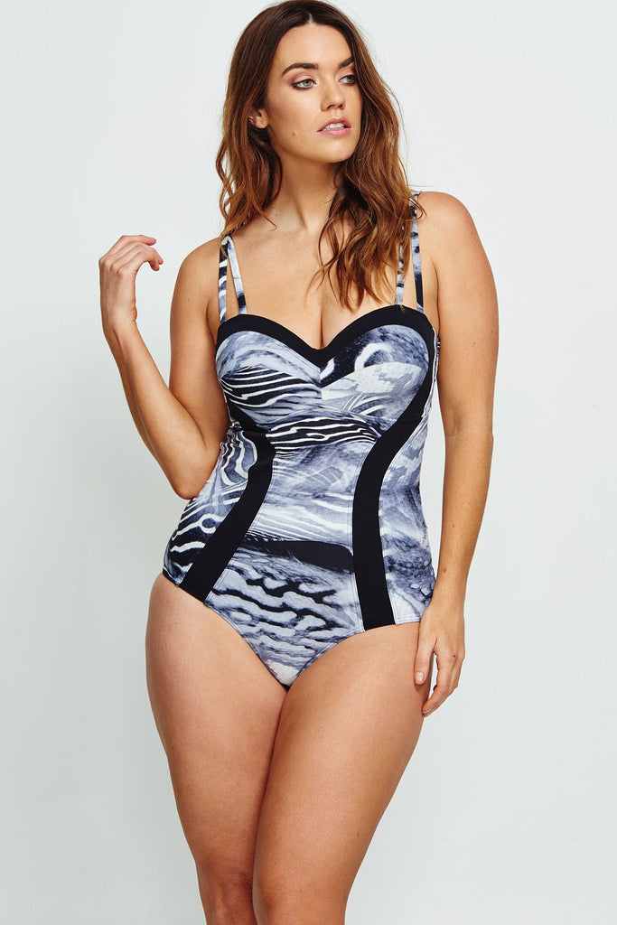 BLACK SEA BELLA NOTTE D/DD CUP ONE PIECE