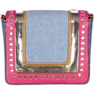 Lucha Libre Denim Mini