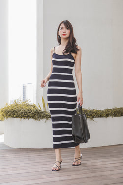 Elvina Stripes Midi