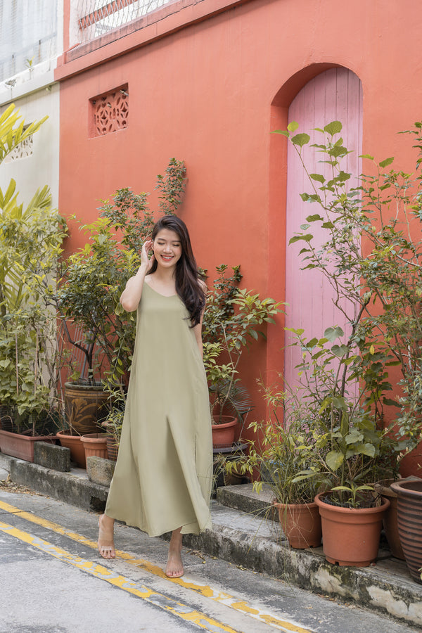 Signature Maxi in Avocado
