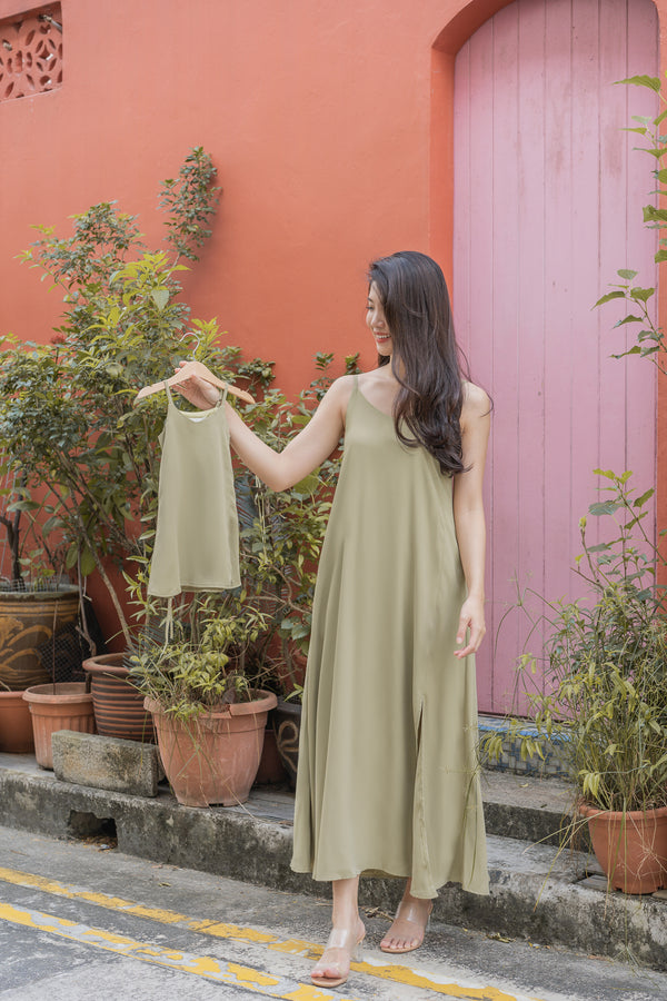 Kids Signature Maxi in Avocado