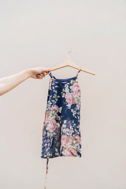 Kids Signature Maxi in Midnight Fleur
