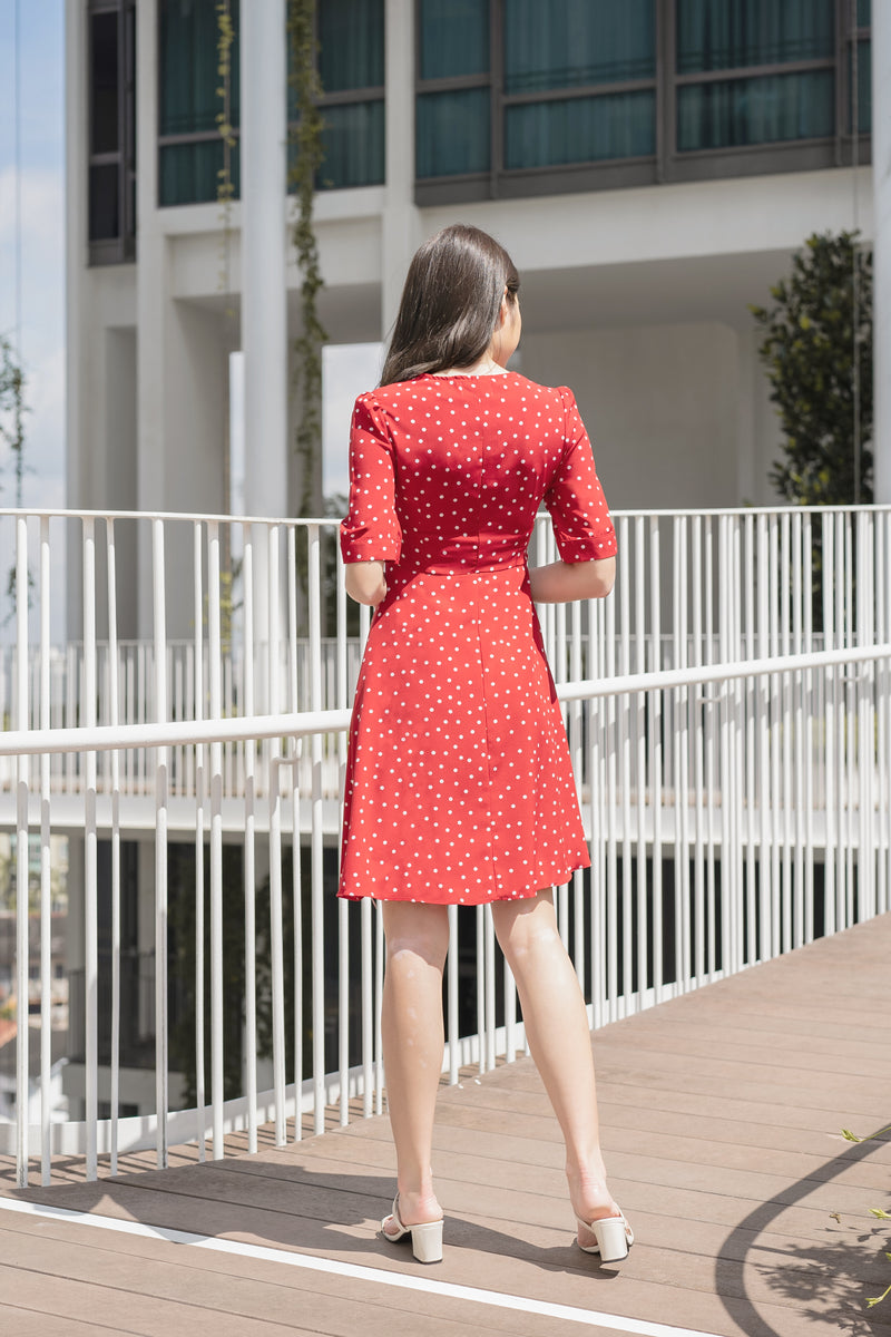 Cleo Polka Dot Dress
